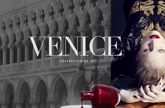 Venecia la nueva colección de esmaltes O.P.I