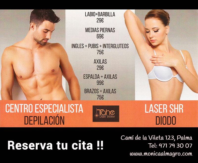 Oferta Depilacion Laser en Palma de Mallorca